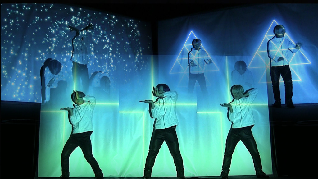 プロジェクションマッピングダンス